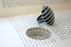 Unusual paper jewellery made from books | Beads Magic