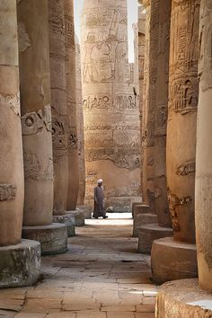 Karnak Temple, Egypt // Flickr by landscape photography- sebastien-mamy.fr