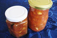Apfel - Rhabarber - Marmelade