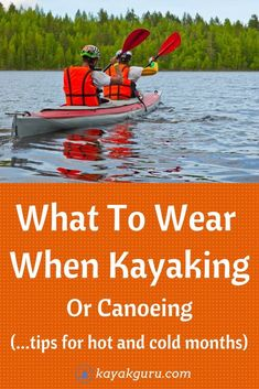 How to dress, and what to wear when kayaking or canoeing. Tips, tricks and advice in our guide to wearing the best clothes in what whatever conditions you're paddling. Whether you're on whitewater rapids, the sea, rivers or a lake, we help you choose the correct apparel. This is especially important on the climate. Different clothes for warm or cool months. Oh, and we help you choose what clothes to bring on a multi-day kayak trip (camping)
