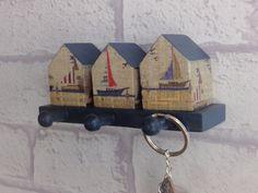 Nautical key hooks | Beach hut hooks | Sailing boat wall hooks | Seaside hooks | Gift for sailor | Beach hut decor | Key hanger by AmeliesCrafthouse on Etsy