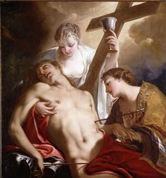 Saint Sébastien, Antonio Bellucci, 1716/1718, huile sur toile, H. 1,44m, L. 1,34m - Londres, Dulwich Picture Gallery