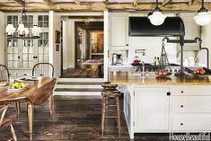 Image of: rustic modern kitchen ideas beams rustic italian modern kitchen design wooden cabinet morgan Rustic Kitchen, Kitchen Remodel, Luxury Kitchens, Modern Kitchen, Interior Design Rustic, Kitchen Interior, Interior Design Kitchen, Rustic Kitchen Cabinets, Luxury Kitchen