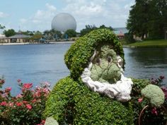 The Epcot Flower & Garden event at Disney World is SO fun to anticipate on a cold, wintery day!