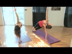 Brooke Burke's Yoga Workout with Tara Stiles - Workout Wednesday with ModernMom