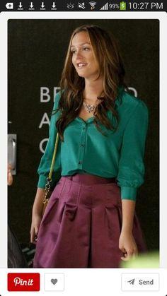 skirt gossip girl gossip girl blair dress blouse dress