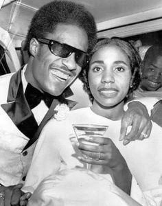 Stevie & first Wife Syreeta Wright
