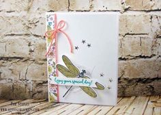Dragonfly Dreams by Pam Staples Sunny Girl Scraps  Stampin' Up!