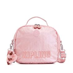 Jill Metallic Convertible Crossbody-Backpack - Icy Rose Metallic