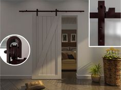 Modern Barn Door Hardware for Wood door - traditional - interior doors - hong kong - Ningbo Tengyu Metal Products Co.Ltd