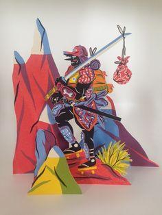 Creative Review - Gradwatch: Jack Fletcher Creative Review, Samurai Jack, Its Nice That, Meet The Artist, Visual Communication, Bold Colors, Zine, Printmaking, Bowser