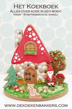 Gingerbread House - www.dekoekenbakkers.com