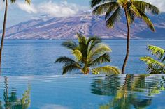 Adults only infinity pool - very popular with my honeymoon clients