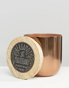 Image 1 of Paddywax Foundry 12oz Candle - Bergamot and Mahogany