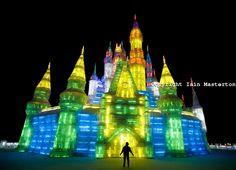 Harbin Ice & Snow Festival, China - Ice Castle