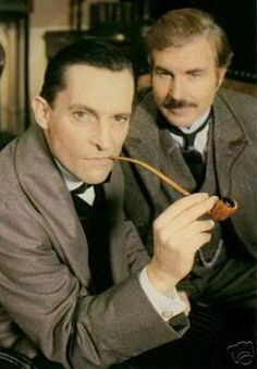 Jeremy Brett, born Peter Jeremy William Huggins, was an English actor famous, among other things, for his portrayal of the detective Sherlock Holmes in four British television series: The Adventures of Sherlock Holmes, The Return of Sherlock Holmes, The Casebook of Sherlock Holmes, and The Memoirs of Sherlock Holmes.