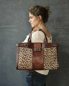 love leopard & the vintage look.  Kohls has a relic leopard purse I like or similar