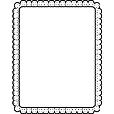 Free Frames Clipart - Clip Art Library Page Borders, Borders And Frames, House Outline, Page Frames, Clip Art Library, Doodle Pages, Silhouette Images, Frame Clipart, Border Design