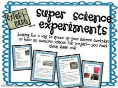 75 pages of science experiments- for FREE! Can't wait to add this to my curriculum :)
