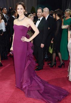 Jennifer Garner, style Gucci Oscars 2013