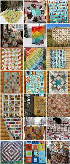 Quilts of 2013 by CoraQuilts~Carla, via Flickr