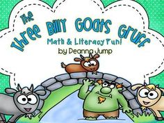 The Three Billy Goats Gruff Math & Literacy Fun!  Common Core Aligned.This fun and engaging unit is packed with lots of fun Math & Literacy activities. Just add the books and you are ready to go!
