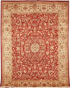 The Mahal rugs are linked to the area of Mahallat near Arak in west-central Iran. Mahal rugs are distinctively hand-woven both in curvilinear as well as geometric patterns.  http://www.alrug.com/4174