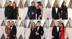 Las parejas de los Premios Oscar 2016