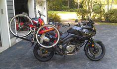 johnny rack motorcycle bike rack   — tread —   Pinterest ...