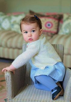 ♕ Princess Charlotte 1st birthday pictures.