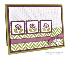 Stampin' Up Card - Crafty Creations by Beth