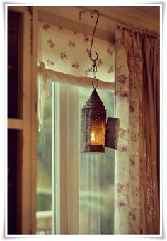 homey and warm--only with different curtains