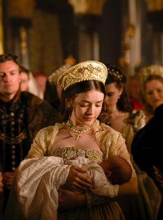 Sarah Bolger as Mary Tudor in The Tudors (TV Series, 2009).