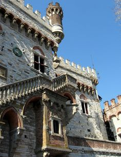 Castle Mackenzie, a structure that dominates the skyline of Genoa.  It's not as old as you might think, built around 1900.