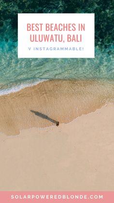 Best beaches in Uluwatu Bali | The best beaches in Bali Indonesia are definitely in Uluwatu! Green Bowl Beach Bali | Dreamland Beach Bali | Padang Padang Beach Bali | Karma Beach Club Bali | Nyang Nyang Beach Bali | Thomas beach Uluwatu | Suluban Beach Bali | Pantai Tegal Wangi for sunset on the beach in Uluwatu | Uluwatu temple sunset at Karang Bone Cliff | Uluwatu Bali Photography | Bingin Beach Bali | Balangan Beach| Most instagrammable places in Bali Bali Travel Guide, Asia Travel, Travel Guides, Vietnam Travel, Time Travel, Travel Tips, Travel Destinations, Backpacking Asia, Beautiful Places To Visit