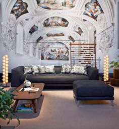 Zio Canvas by Marcel Wanders and Prop Light by Bertjan Pot