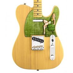 "Axetreme Custom Shop Telecaster "" Luck of the Irish"" - St Patrick's Day Pickguard - Guitar Neck, Luck Of The Irish, Custom Guitars, Innovation Design, Pin Up Girls, St Patricks Day, Business, Sweet, Shop"