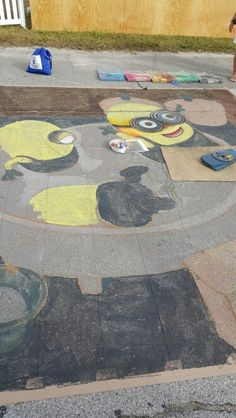 Chalk festival 2015 Chalk Festival, Stepping Stones, Outdoor Decor, Home Decor, Stair Risers, Decoration Home, Room Decor, Home Interior Design, Home Decoration