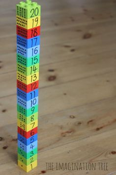 Counting, Ordering and Measuring with Lego (pinned by Super Simple Songs) #educational #resources for #children