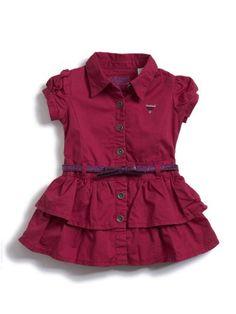GUESS Kids Girls Toddler Twill Dress « Clothing Impulse