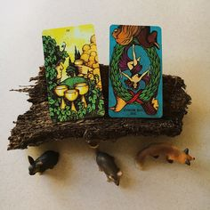 2/9/16 - 4 of cups and the World reversed indicate that there are opportunities at your feet that you are not taking advantage of. You may be holding off due to doubts that it's the right timing, not feeling prepared or because you aren't taking the opportunities seriously. All excuses, my friend. The World tells us that the moment couldn't be better and that you are actually missing out majorly with each moment you wallow by yourself. It's time to move past fear.
