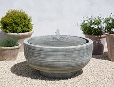 The understated Girona Fountain represents minimalism at its finest.