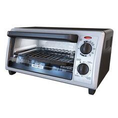 Black & Decker Stainless Steel 4-slice Toaster Oven