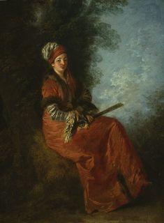The Dreamer by Watteau,1712-14