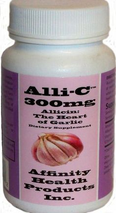 ALLI-C® Allicin with Vitamin C and Bioflavonoids - 30 vegetarian capsules capture the power of garlic Garlic Breath, Garlic Supplements, Garlic Extract, Best Herbal Tea, Ginger Tea, Natural Cures, Herbal Medicine, Vitamin C