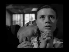 """Through a Glass Darkly (Ingmar Bergman, """"We draw a magic circle and shut out everything that doesn't agree with our secret games. Ingmar Bergman Films, Bergman Movies, Harriet Andersson, Winter Light, Blue Angels, Movie Quotes, Gods Love, Movie Tv, Memories"""