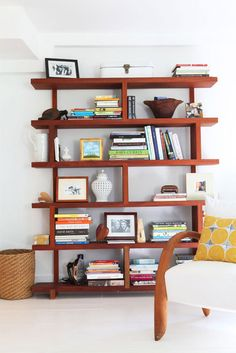 These shelves are wonderful. Follow the link to see so much many more great ideas.