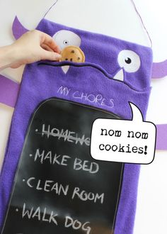 Chore Monster - Complete a chore, feed the monster! When the cookies are gone your chores are done.
