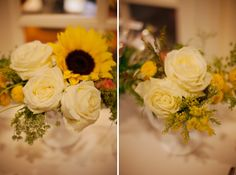First classic sunflower bouquet i love!