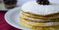 Domáce lievance z jogurtového cesta - Receptik.sk Almond Butter, Almond Flour, Crepes Party, Pancake Toppings, Paleo Pancakes, Beignets, Smoothie, Breakfast, Food